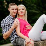 zdjęciowa sesja narzeczeńska w parku, fotograf Poznań